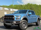 2019 Performance Blue Ford F150 SVT Raptor SuperCrew 4x4 #133342727