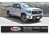 2019 Silver Sky Metallic Toyota Tundra SR5 CrewMax 4x4 #133342779