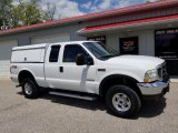 2004 Oxford White Ford F250 Super Duty Lariat SuperCab 4x4 #133357941