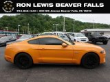 2018 Orange Fury Ford Mustang GT Premium Fastback #133357721