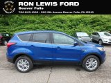 2019 Lightning Blue Ford Escape SE 4WD #133357717