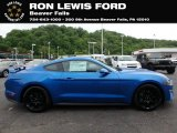 2019 Velocity Blue Ford Mustang EcoBoost Fastback #133357716