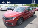2019 Rallye Red Honda Civic EX Sedan #133378301
