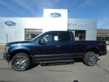 2019 Blue Jeans Ford F150 XLT SuperCab 4x4 #133378404
