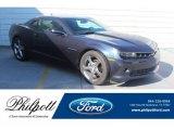 2014 Blue Ray Metallic Chevrolet Camaro LT Coupe #133378327