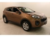 2017 Burnished Copper Kia Sportage LX AWD #133378390