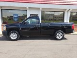 2008 Black Chevrolet Silverado 1500 Work Truck Regular Cab #133399329
