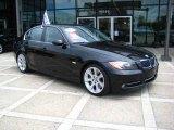 2007 Jet Black BMW 3 Series 335i Sedan #13307410