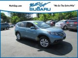 2014 Mountain Air Metallic Honda CR-V EX AWD #133399253