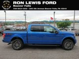 2019 Velocity Blue Ford F150 XLT SuperCrew 4x4 #133417819