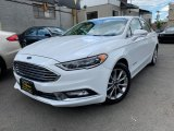 2017 Oxford White Ford Fusion Hybrid SE #133417928
