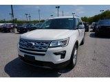 2019 White Platinum Ford Explorer XLT 4WD #133439291