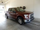 2015 Bronze Fire Metallic Ford F150 XLT SuperCrew 4x4 #133439255