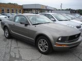 2005 Mineral Grey Metallic Ford Mustang V6 Premium Coupe #13313015