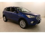 2017 Lightning Blue Ford Escape Titanium 4WD #133445279