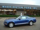 2006 Vista Blue Metallic Ford Mustang V6 Deluxe Coupe #13311812