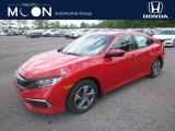 2019 Rallye Red Honda Civic LX Sedan #133445212
