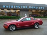 2006 Redfire Metallic Ford Mustang V6 Premium Coupe #13311811
