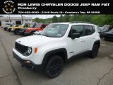 2019 Alpine White Jeep Renegade Sport 4x4 #133445121