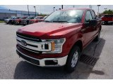 2019 Ruby Red Ford F150 XLT SuperCab 4x4 #133461913