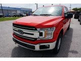 2019 Race Red Ford F150 XLT SuperCab 4x4 #133461912