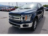 2019 Blue Jeans Ford F150 XLT SuperCab 4x4 #133461901