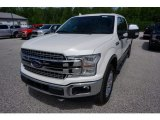 2018 White Platinum Ford F150 Lariat SuperCrew 4x4 #133461894