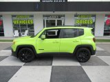 2017 Hypergreen Jeep Renegade Latitude #133461800