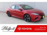2019 Supersonic Red Toyota Camry XSE #133461739