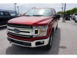 2019 Ruby Red Ford F150 XLT SuperCab 4x4 #133461925