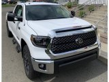 2019 Super White Toyota Tundra TRD Off Road Double Cab 4x4 #133483657