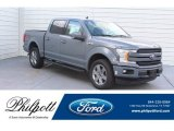 2019 Abyss Gray Ford F150 Lariat SuperCrew 4x4 #133483710
