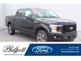 2019 Agate Black Ford F150 STX SuperCrew #133483707