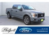 2019 Abyss Gray Ford F150 STX SuperCrew #133483706