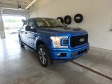 2019 Velocity Blue Ford F150 STX SuperCrew 4x4 #133500336