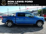 2019 Velocity Blue Ford F150 XLT SuperCrew 4x4 #133527434