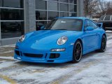 Mexico Blue Paint to Sample Porsche 911 in 2008