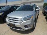 2019 Ingot Silver Ford Escape SEL #133557504