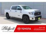 2019 Super White Toyota Tundra SR5 CrewMax 4x4 #133557420