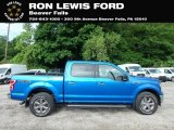 2019 Velocity Blue Ford F150 XLT SuperCrew 4x4 #133557338