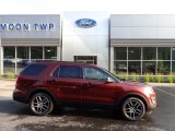 2016 Bronze Fire Metallic Ford Explorer Sport 4WD #133557400