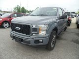2019 Abyss Gray Ford F150 XL SuperCab 4x4 #133576486