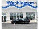 2019 Crystal Black Pearl Honda Civic LX Sedan #133576312