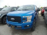 2019 Velocity Blue Ford F150 STX SuperCrew 4x4 #133576474