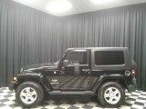2010 Black Jeep Wrangler Sahara 4x4 #133599653