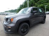2019 Granite Crystal Metallic Jeep Renegade Sport 4x4 #133599908