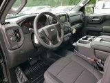 2019 Chevrolet Silverado 1500 WT Double Cab Jet Black Interior