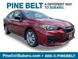 2019 Crimson Red Pearl Subaru Impreza 2.0i 4-Door #133621393