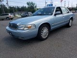 Light Ice Blue Metallic Mercury Grand Marquis in 2009