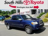 2005 Spectra Blue Mica Toyota Tundra SR5 Double Cab 4x4 #133621467